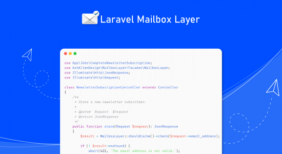 How to Validate Email Addresses using Laravel Mailbox Layer