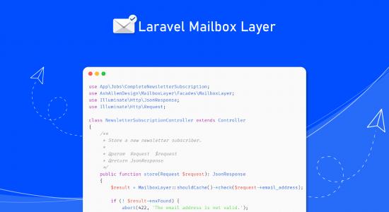 How to Validate Email Addresses using Laravel Mailbox Layer
