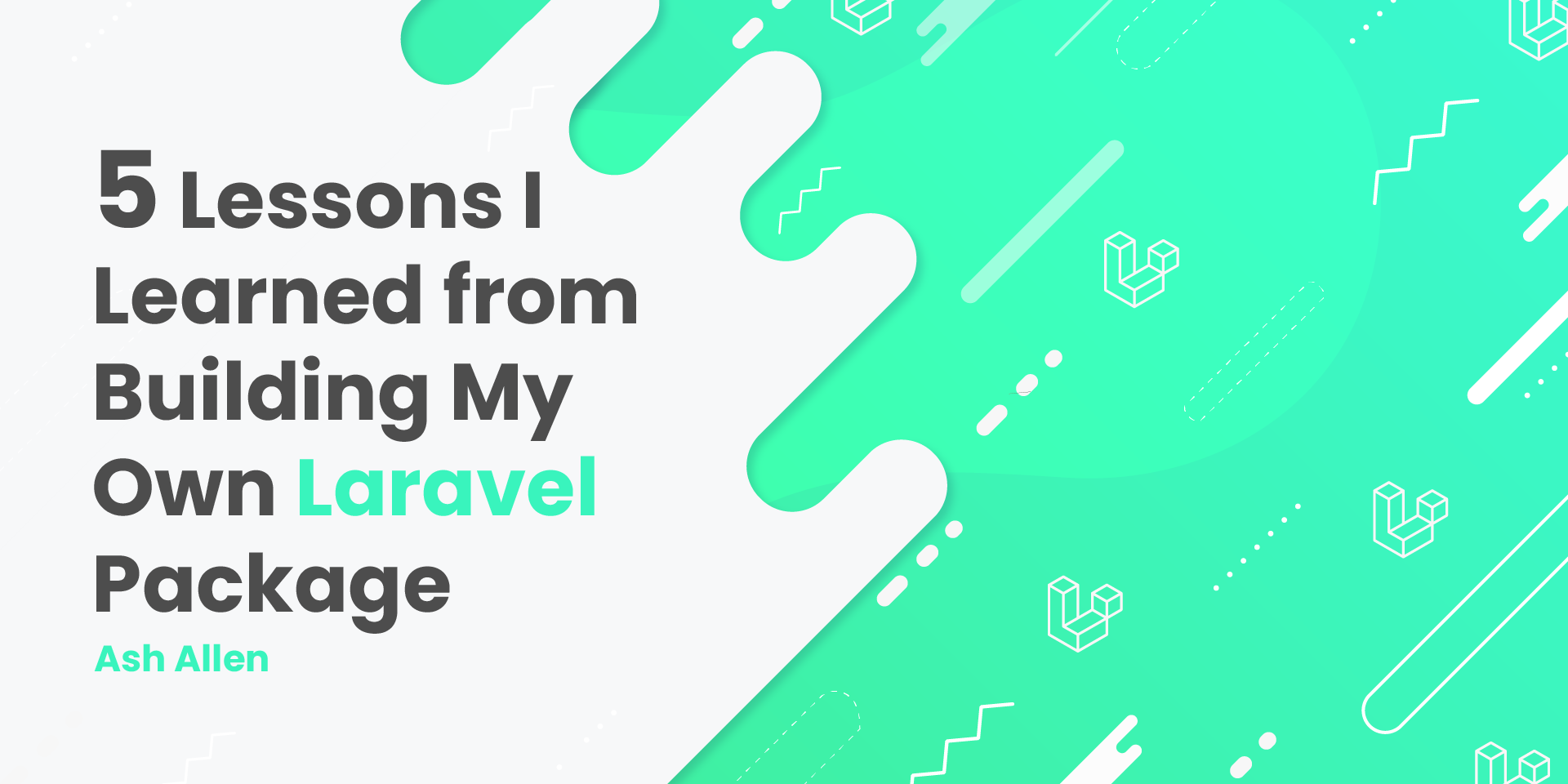 Read about the 5 lessons that I learned from building the Laravel Exchanges Rates package and how it changed my perspective towards from development as a web developer.