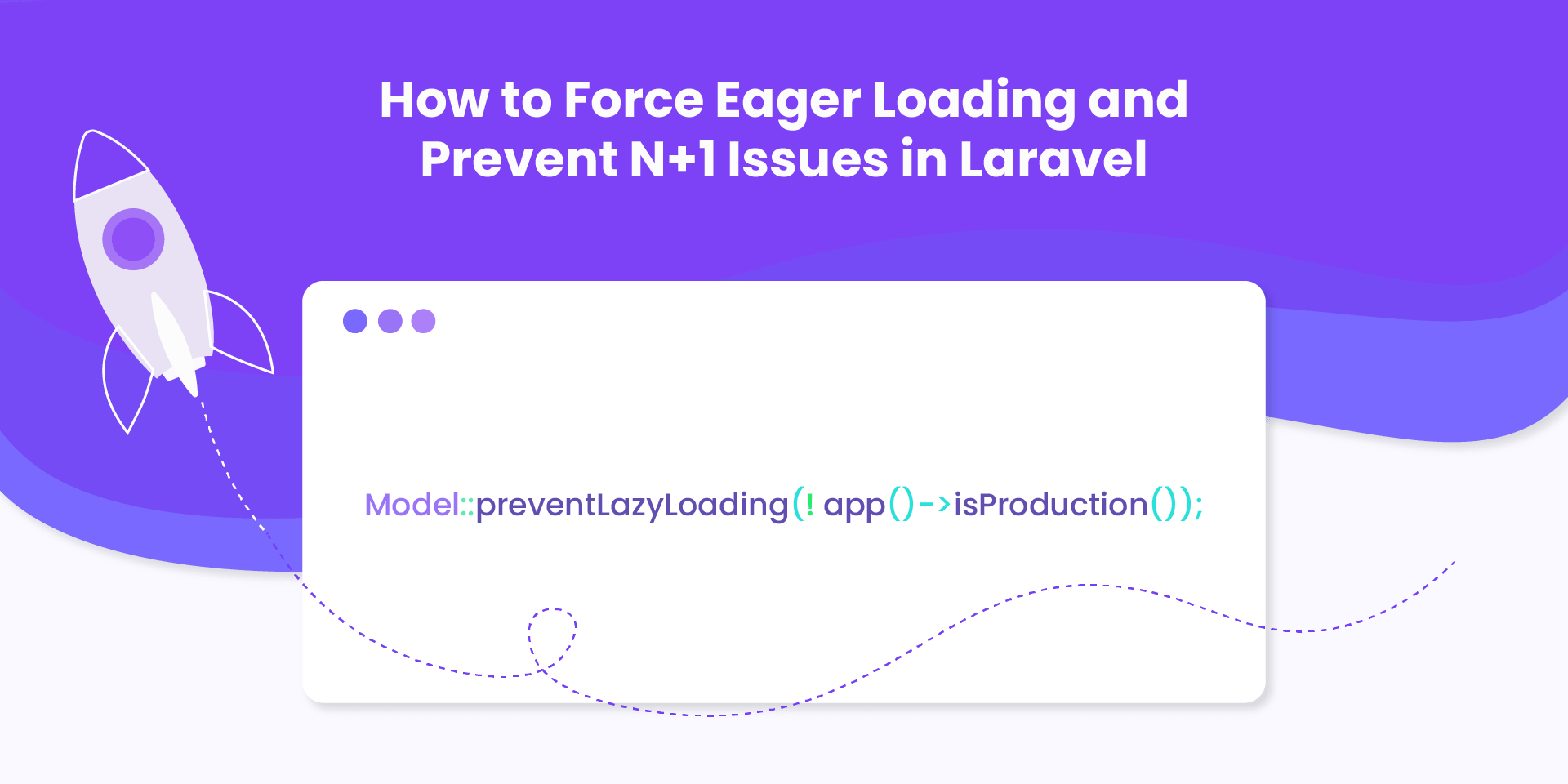 Learn how to force eager loading and prevent lazy loading in your Laravel application. You can use this feature to prevent N+1 queries to gain a performance improvement.