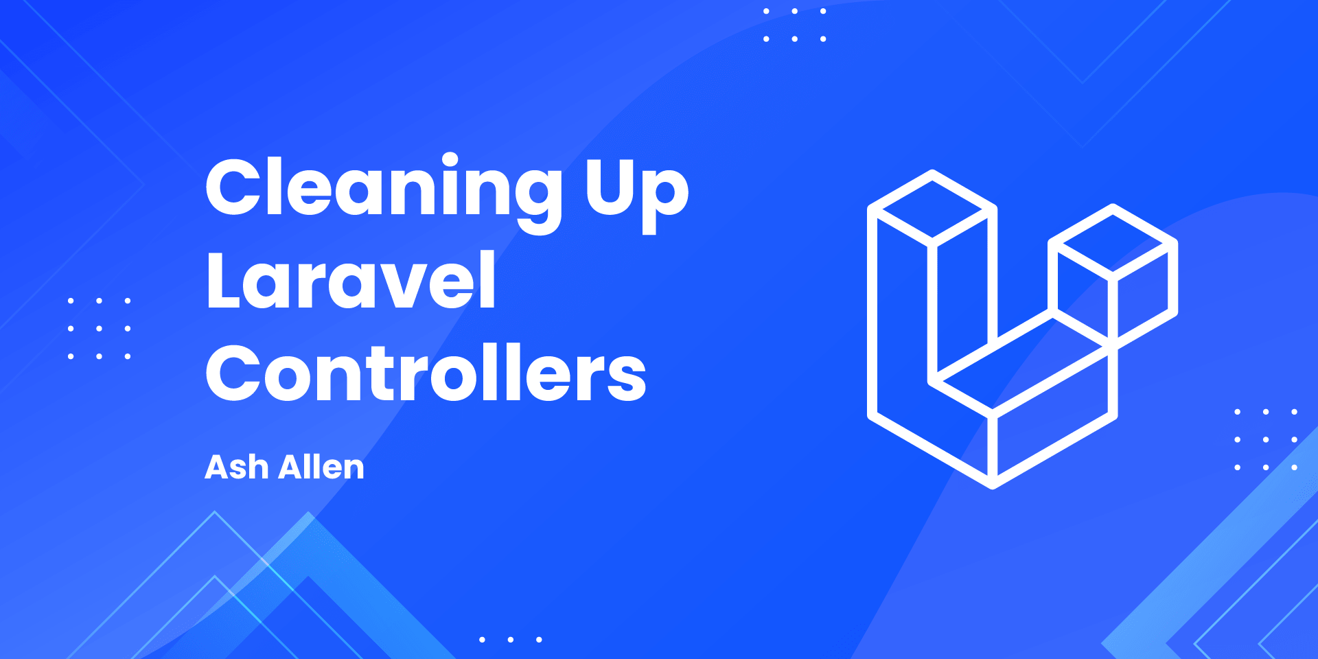 Learn how to clean up controllers in Laravel by using form requests, actions, and services. The article also includes real-life examples of how you can use these techniques.