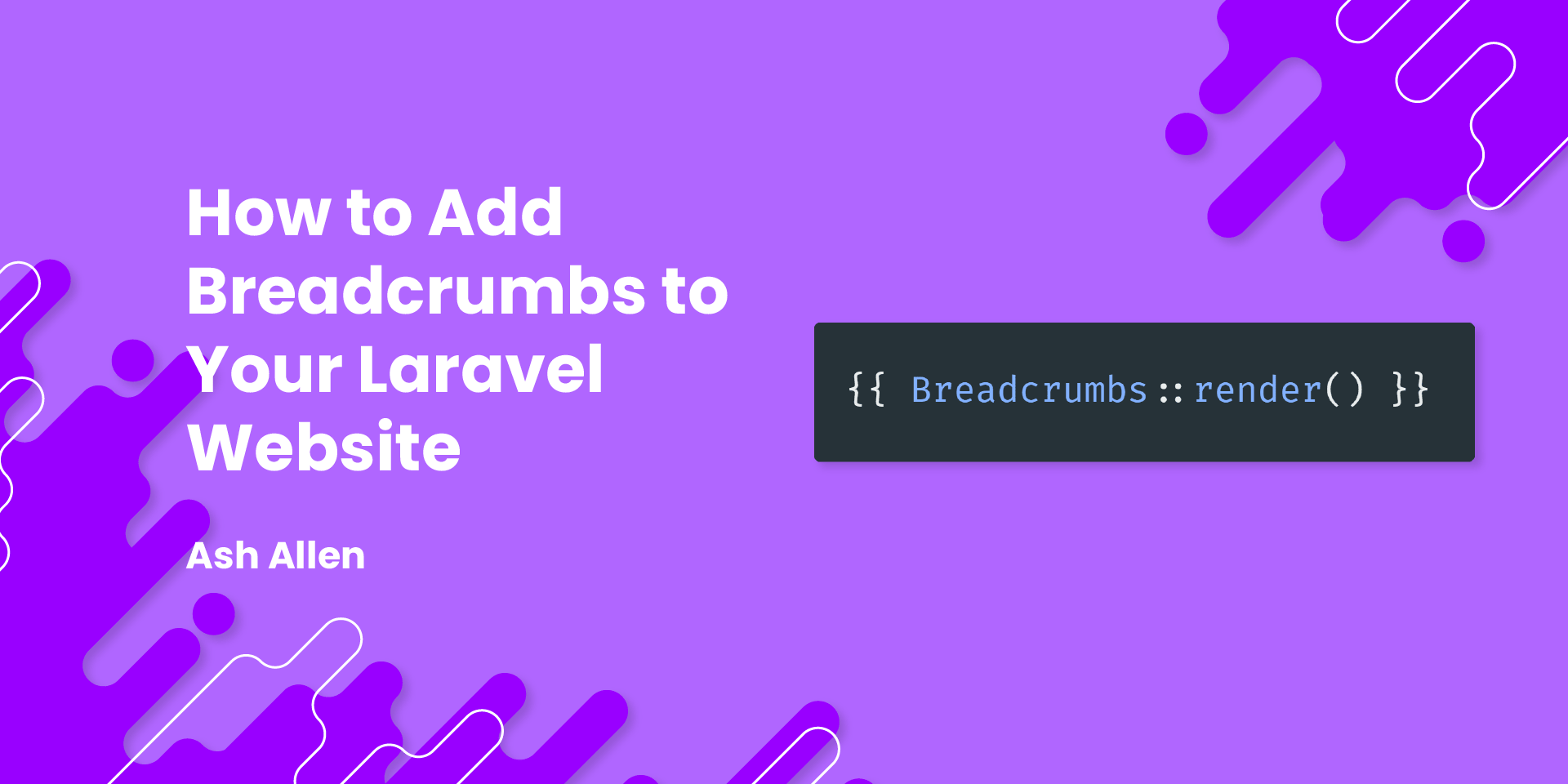 Learn how to add breadcrumbs to your website using the diglactic/laravel-breadcrumbs package. This article also briefly covers the benefits of using breadcrumbs and how they can help your website's visitors.