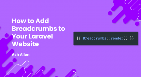 How to Add Breadcrumbs to Your Laravel Website