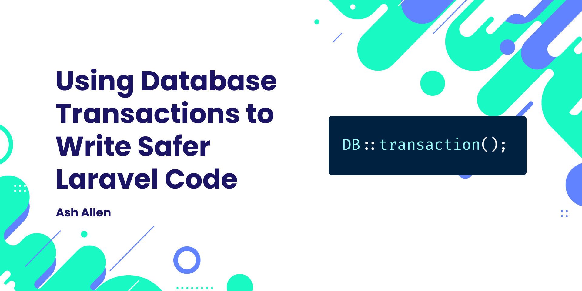 Learn about how to use database transactions in Laravel to improve data accuracy. The article also covers caveats of using database transactions inside queued jobs.