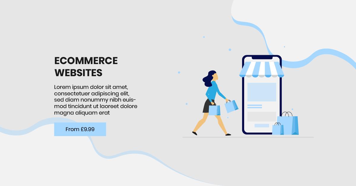 E-commerce Facebook Post